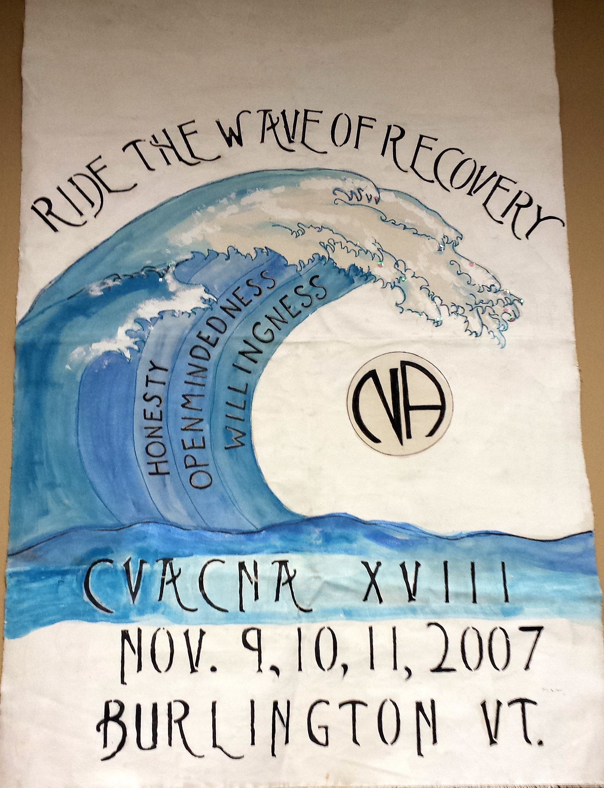 CVACNA XVIII (2007) Ride The Wave Of Recovery